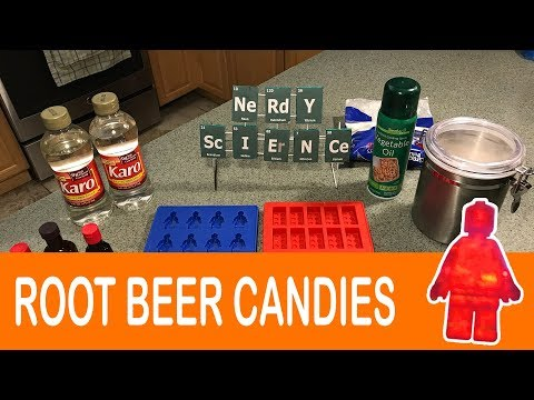 How we made Root Beer flavored Candies