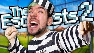 WE BROKE THE GAME | The Escapists 2 #7 w/Robin