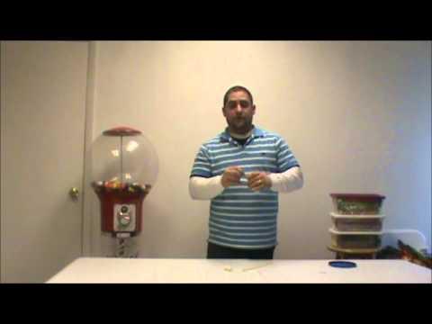 Baby shower balloon pacifier tutorial