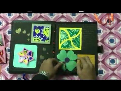 Birthday Scrapbook for Girlfriend/TECHNOLOGY meet DIY Gifting/Best Handmade Gift/Cute Gift Ideas/DIY