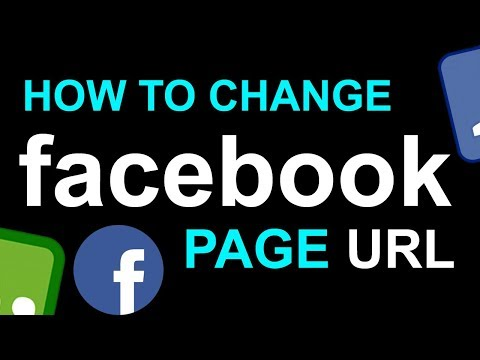 How to Change Facebook Page Name and URL | Business Page URL | URL Get-Find-Change