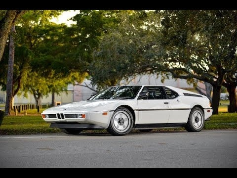 $605,000! 1981 BMW M1 COUPE