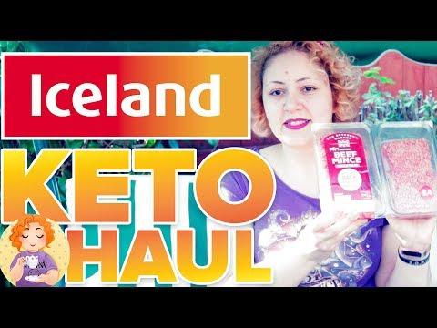 ICELAND Keto Foods Haul    Keto Grocery Shopping List UK #7