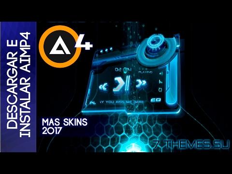 Descargar e instalar AIMP 4 el mejor reproductor de musica + Skins 2017