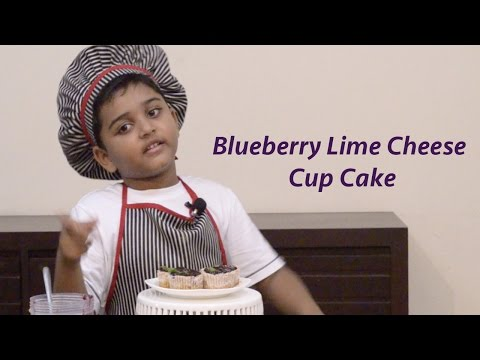 Blueberry Lime Cheese Cup Cake | Mini Cheesecakes Recipe | Blueberry Cheese Cake