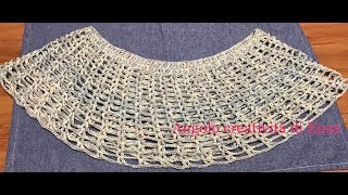 Coprispalle Rombiad Uncinetto Diamondshrug To Crochet Tube10xcom