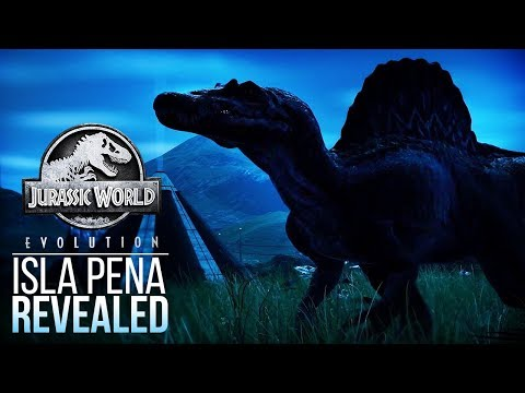 ANOTHER ISLAND REVEALED! ISLA PENA WITH A SPINOSAURUS | Jurassic World: Evolution Discussion
