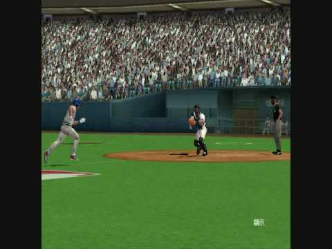 MVP Baseball 2005 Scott Rolen Rod Barajas 5-2-3 Double Play