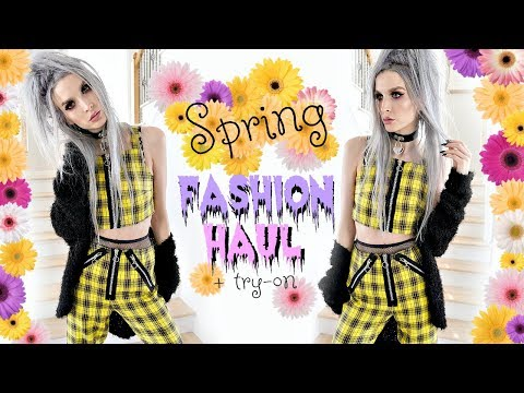 Spring-ish Fashion Haul & Try-on