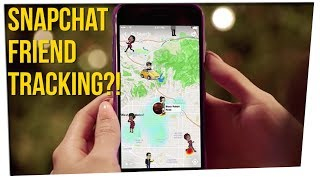Snapchat Now Lets You See Peoples Locations Ft. Gina Darling & Davidsocomedy