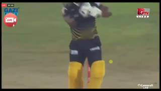 Malinga vs Smit Wicket in BPL2017