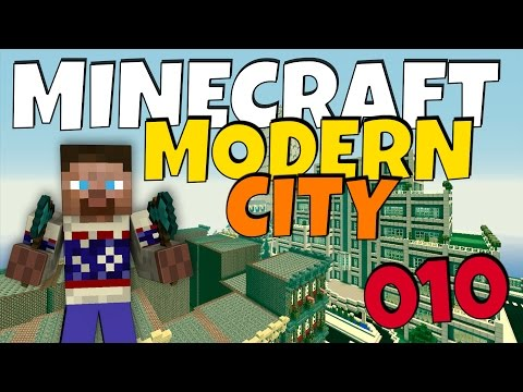 How to build a Modern City in Minecraft - Episode 10