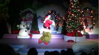 Full Grinchmas musical at Islands of Adventure during 2011 Universal Orlando Holidays