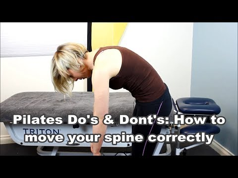 Pilates Do's & Dont's: How to move your spine correctly myPhysioSA Pilates Adelaide