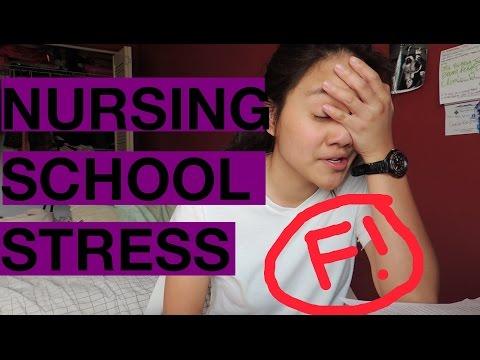 I STUDIED SO HARD IN NURSING SCHOOL! | NURSING SCHOOL STRESS.