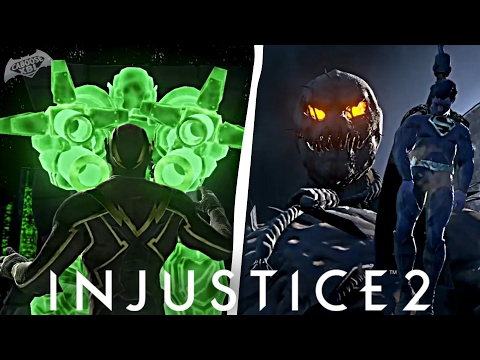 Injustice 2 - Scarecrow, Green Lantern & The Flash Super Move FIRST LOOK!