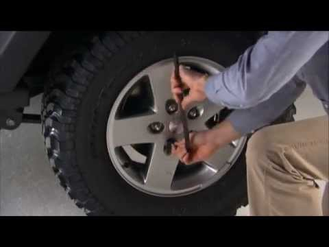 How to Jack and Change a Tire on a 2013 Jeep Wrangler