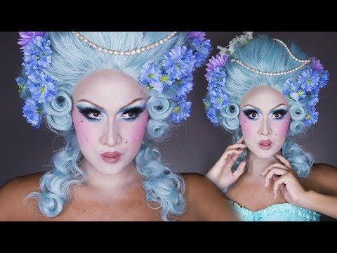 Marie Antoinette Drag Makeup Tutorial