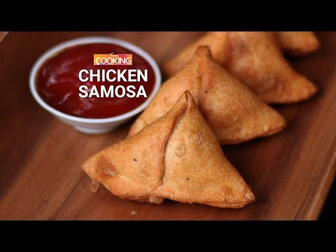 Chicken Samosa | Street Food | Snack | Mince Samosa | Ventuno Home Cooking