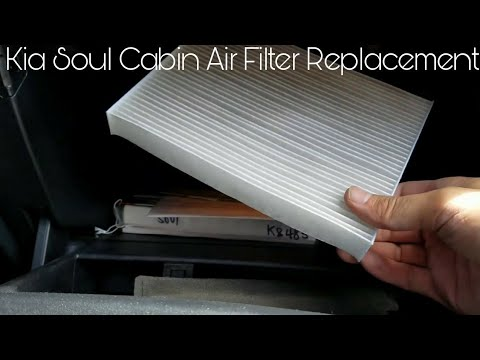 Kia Soul Cabin Air Filter Replacement