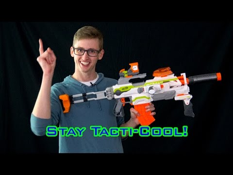 TOP 5 Ways to Make Your Nerf Blaster Tacti-Cool!
