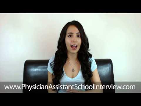 PA School Interview- Testimonial