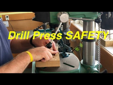 How to use the drill press