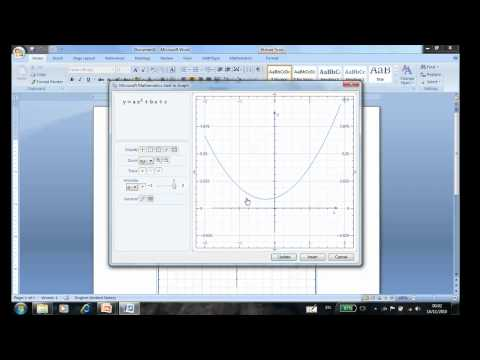 Animation of Graph in Word 2007