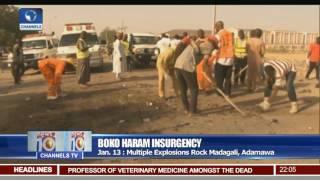 News@10: Nigerian Airforce Strikes Militants' Hideout In Borno 16/01/17 Pt 1