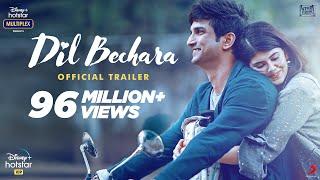 Dil Bechara | Official Trailer | Sushant Singh Rajput | Sanjana Sanghi | Mukesh Chhabra | AR Rahman