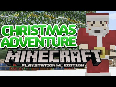 Minecraft Christmas Adventure! (PS4) - Minecraft PlayStation 4 Festive Map