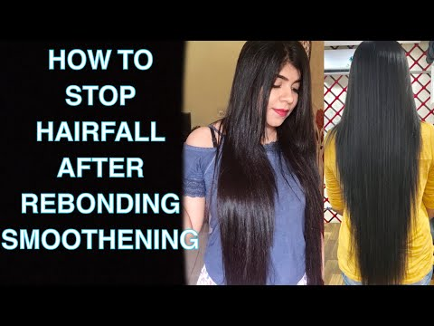 Stop hairfall after straightening and smoothening | How to take care of your hairs | HairCare