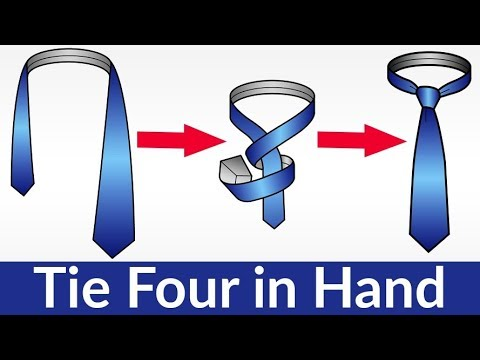 Four In Hand Tie Knot Tutorial | How To Tie A Tie