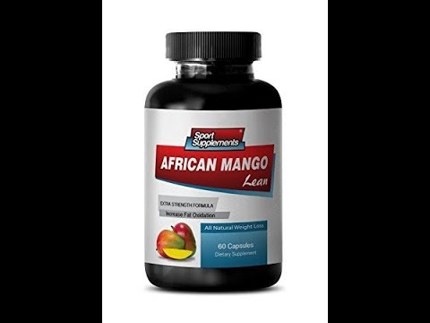 Pure African Mango Lean Natural Mango Extract 1200mg with Acai Berry - For Weight Loss (1 Bottle)