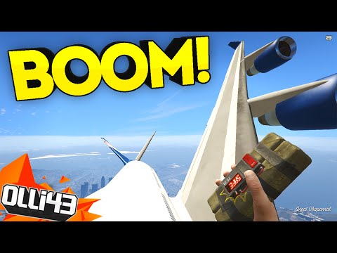 HIGH UP SHENANIGANS!! GTA 5 Just Cause Mod! GTA 5 Mods Showcase!