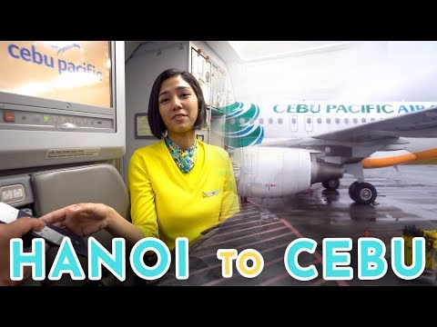 Flying to the Philippines with Cebu Pacific Air