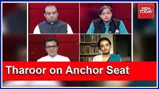Shashi Tharoor On India Today Anchor Seat : Is Freedom Of Expression Under Threat?   To The Point