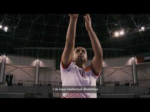 Watch Butti Al Sheezawi, Special Olympics Basketball athlete from the UAE!