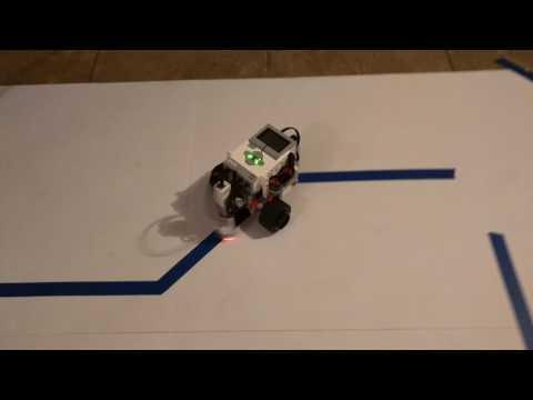 Lego Mindstorms EV3 FAST line following robot
