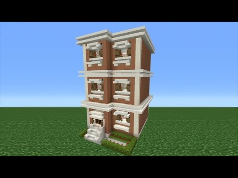 Minecraft Tutorial: How To Make A Town House - 2