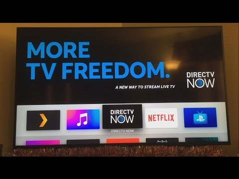 Directv Now on Apple TV Review