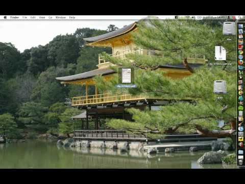 Mac OSX - Creating a compresed folder (ZIP)