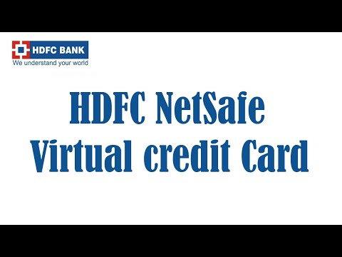 Use Debit Card As Credit Card HDFC Virtual Credit Card