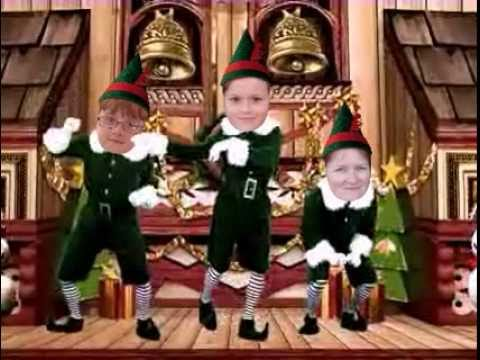 JibJab Christmas Elf Dancing
