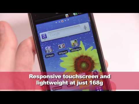 LG Optimus 3D hands-on video
