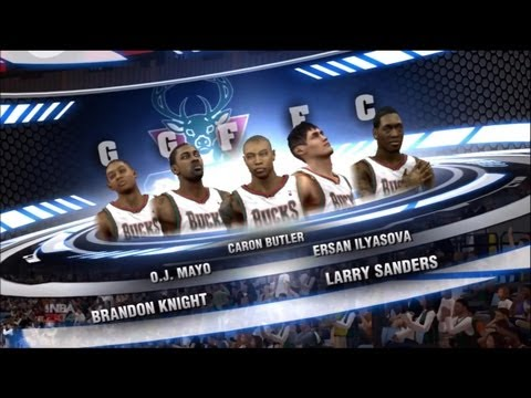NBA 2K14 My Career - My Teammates Won't Shoot