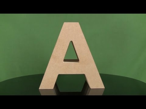 Outdoor Wooden Letters
