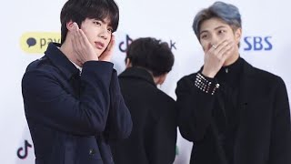 namjin sharing two brain cells when they're together