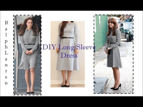 DIY Long Sleeve Dress