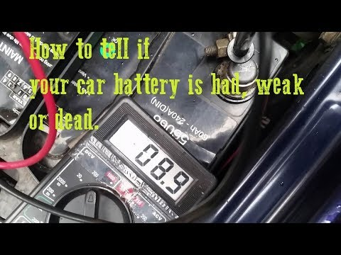 Slow Engine Crank - Knowing when your car battery needs to be replaced - Subaru Legacy